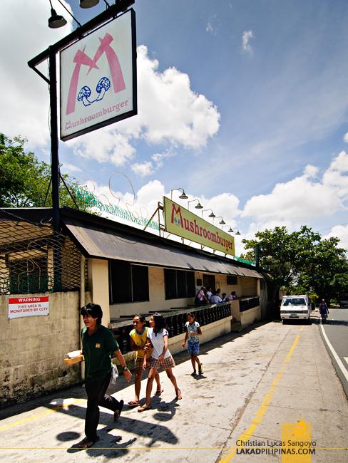 Tagaytay's Mushroom Burger Storefront