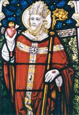 Augustinus van Hippo (354-430) - kerkleraar die eerste 'wegwijzer' betekent voor de meeste kloosterordes.