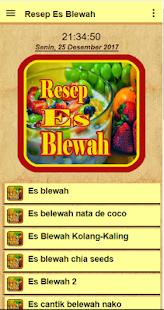 Resep Es Blewah Spesial - náhled