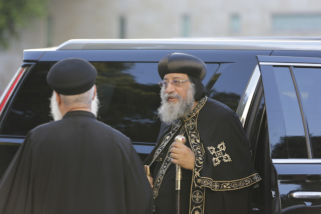 His Holiness Pope Tawadros II visit to St. Mark LA - _09A9029.JPG