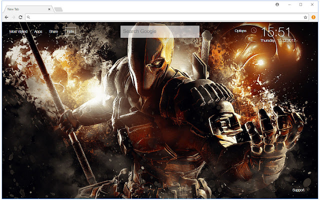 Deathstroke Wallpapers DC Comics New Tab