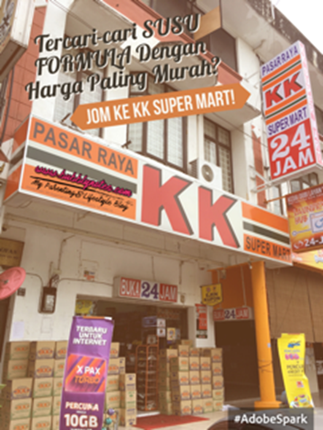 TERCARI-CARI SUSU FORMULA DENGAN HARGA PALING MURAH_JOM KE KK SUPER MART!