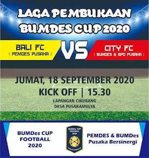 bumdes-cup-2020-desa-pusakamulya