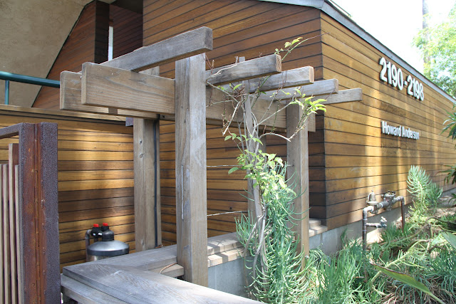 Natural wood at Torrey Pines Terrace