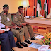 President Muhammadu Buhari Meets With Service Chiefs Over Killing Of Soldiers