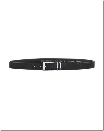 Trussardi Jeans Pelle Stampa Logo