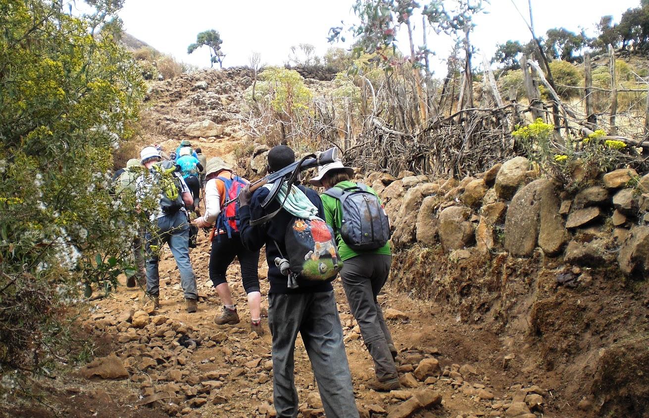 Simieno kalnai,kelione i Etiopija.Autorius:Tomas Baltusis