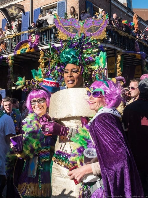 Mardi gras celebrations New Orleans