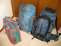 A years worth of belongings