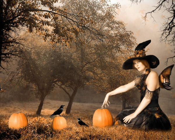 All Hallows Eve Witch, Halloween