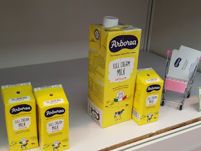Arborea full cream milk is from Arborea, Italy.
