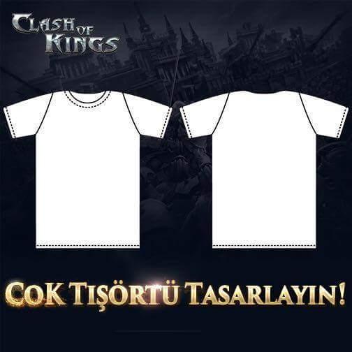 Tshirt Tasarım Yarışması - Clash of Kings