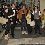 OIC - ENTSIMAGES.COM - Raj Dhanda and Pablo sat- Bhambra at the Beyond Bollywood - press night  at the London Palladium London 11th May 2015  Photo Mobis Photos/OIC 0203 174 1069