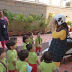 Exploring 2 wheelers in Nursery (2014-15) at Witty World