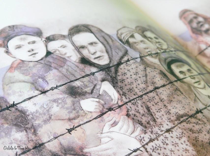 Album ilustrado infantil Un largo viaje