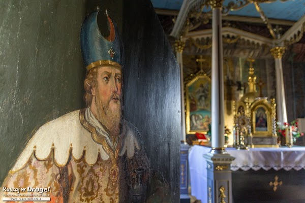 Wnętrza Drewnianej Cerkwii w Brunarach