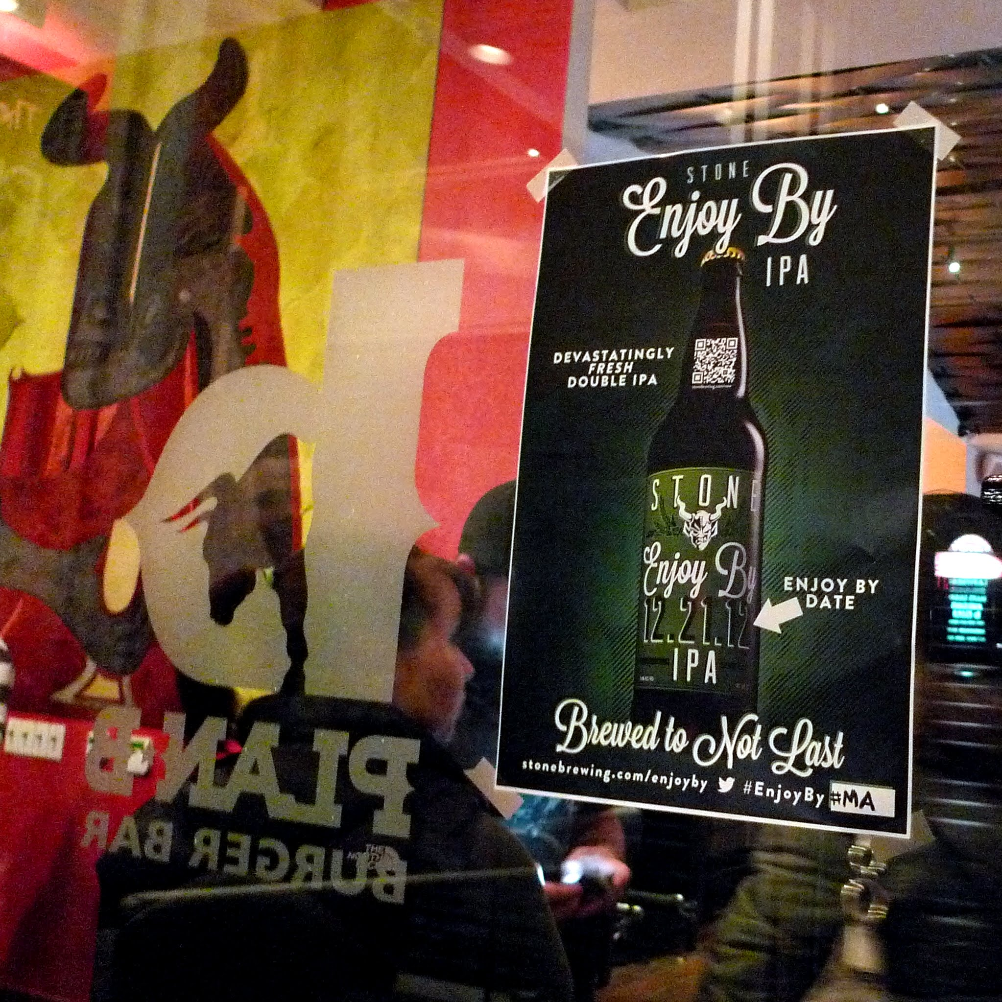Enjoy By 12.21.12 at Plan B Burger Bar