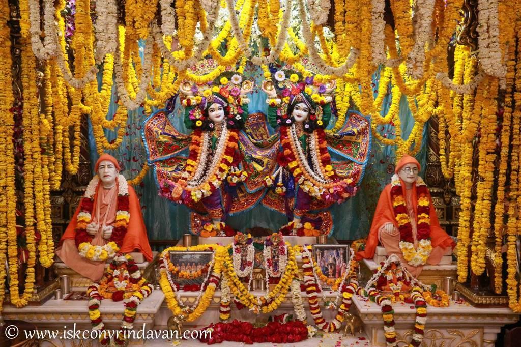ISKCON Vrindavan Sringar Deity Darshan 28 Feb 2016 (1)
