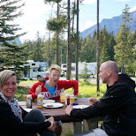 BBQ time in Banff, Alberta in Calgary, Alberta, Canada