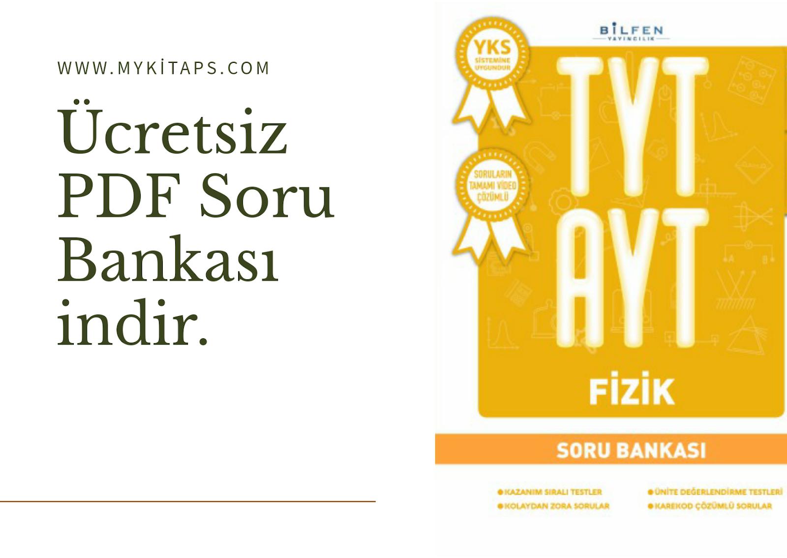 Bilfen TYT-AYT Fizik Soru Bankası 2018-2019