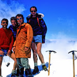 1980.07.04 Geoff Scott Tony Wadham Roy Fisher Derrick Davies Pyrenees Mont Perdu.jpg