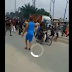 (VIDEO)DPO of Oyibo police station in Rivers state has been reportedly captured and beheaded