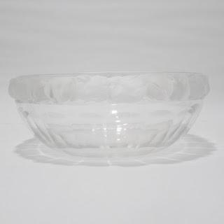 Lalique Mesanges Crystal Bowl