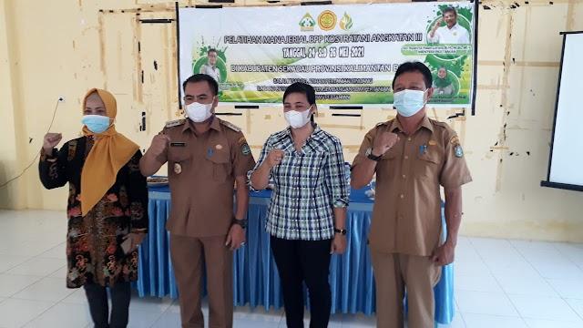 BBPP Binuang Latih Penyuluh Pertanian untuk Percepatan Implementasi Peran BPP Kostratani  di Sekadau