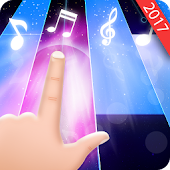 Magic Black Piano: Music Tiles