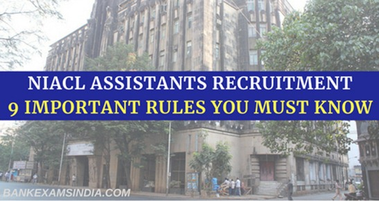 NIACL assistants recruitment 2018,new india assurance recruitment,niacl recruitment 2018
