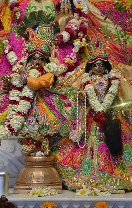 ISKCON Ahmedabad Deity Darshan 02 Mar 2016 (2)