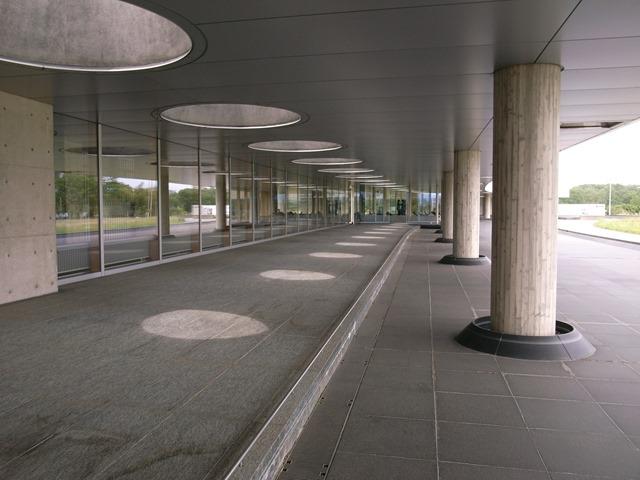 岩手県立美術館感想建築