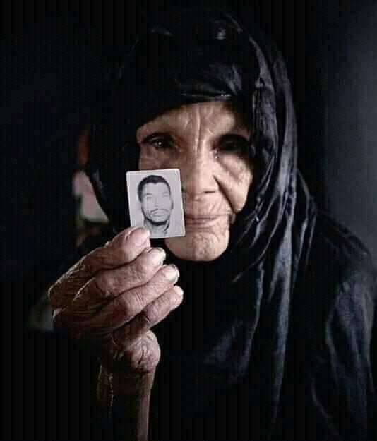 Día Internacional de las Víctimas de Desapariciones Forzadas. Más de 500 desaparecidos saharauis, no se sabe nada de ello.