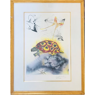 Signed Lithograph After Dali #1