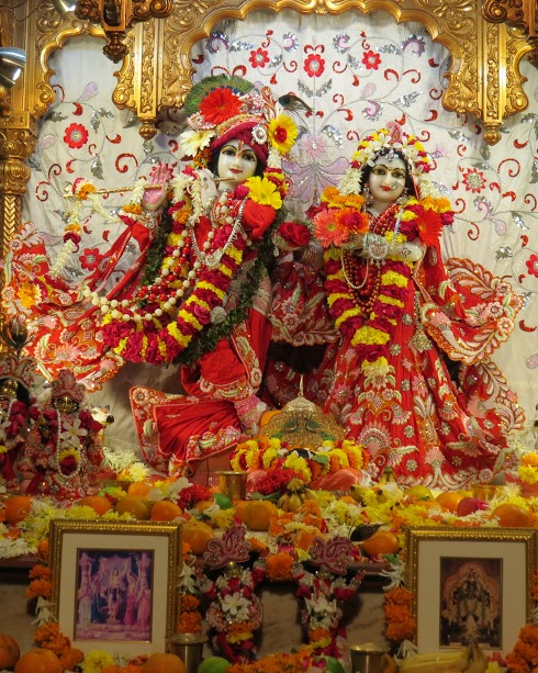 ISKCON Vallabh vidhyanagar Deity Darshan 09 jan 2017 (2)