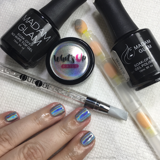 What's Up Nails Holographic Powder
