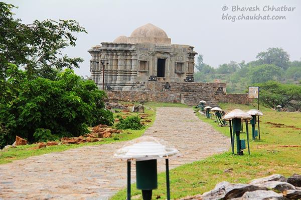 Walkway at Kumbhalgarh