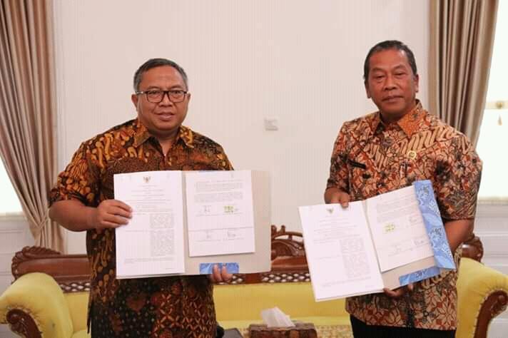 Pemkab Sukabumi Bersama BPN Bahas Permasalahan Pertanahan