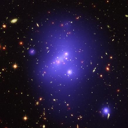 aglomerado de galáxias IDCS 1426