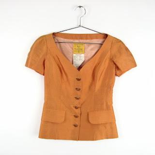 Ines de la Fressange Vintage Silk Top