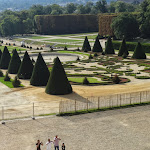 Musée de l'Île-de-France : vue sur le parc de Sceaux, photo de mariage