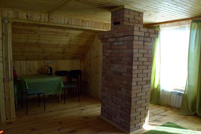 Второй этаж гостевого дома Масликовых