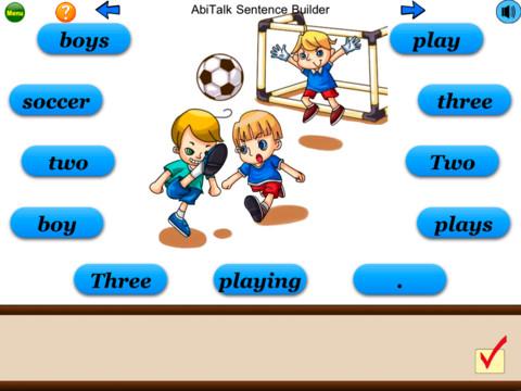 Sentence Builder App