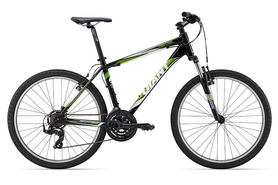 xe dap the thao Revel 3, xe dap the thao, xe dap trinx, xe đạp thể thao chính hãng, xe dap asama, Revel 3 Black Green