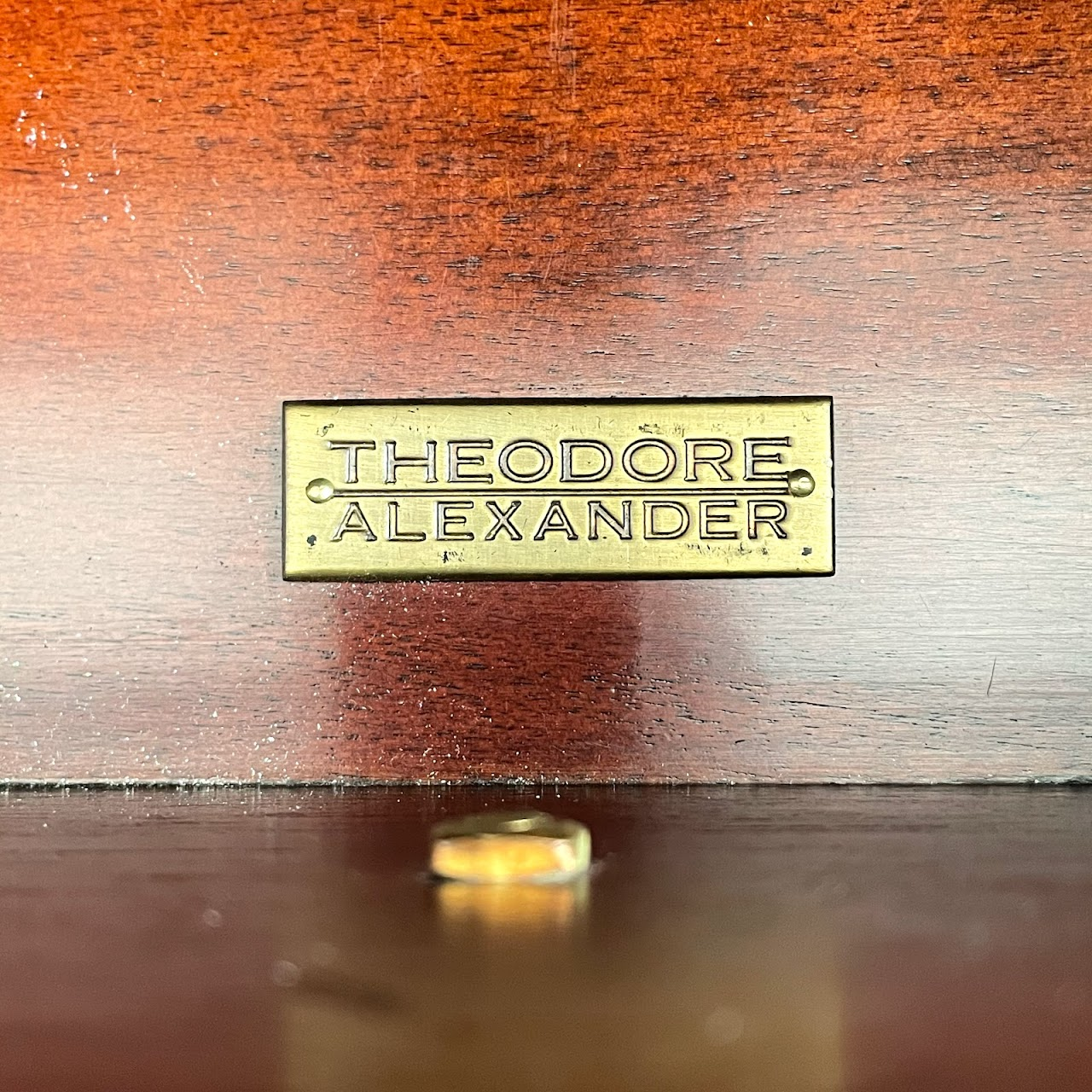 Theodore Alexander Chinoiserie Apothecary Cabinet