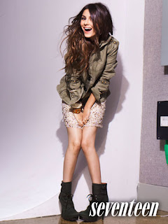 Victoria Justice - Seventeen Magazine April 2011