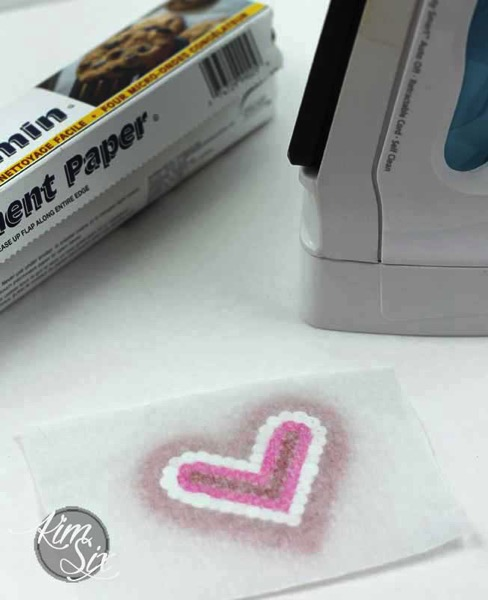 Parchment paper for pearler beads