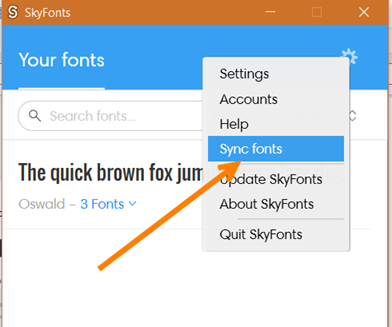 sincronizzare-skyfonts