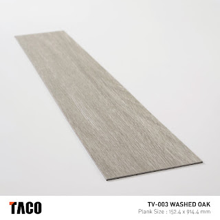 Vinyl Taco TV-003 Washed Oak