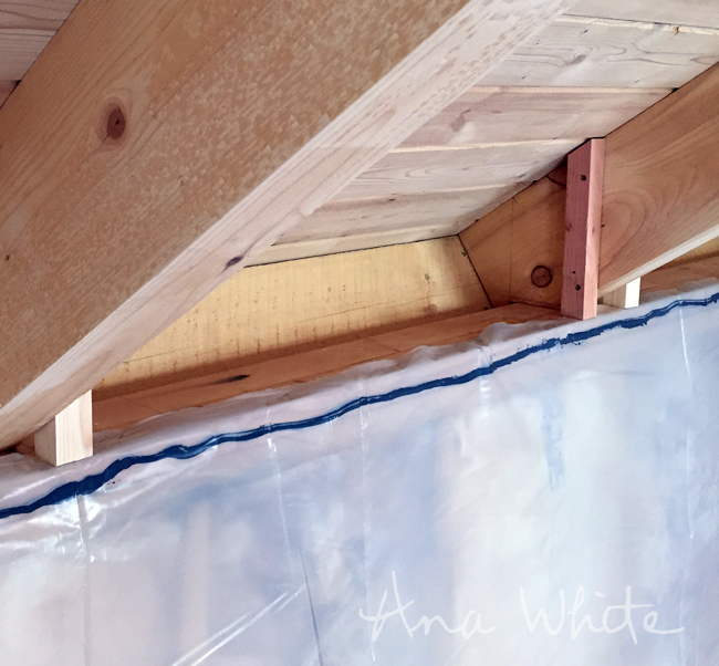 Insulating Walls From The Inside : Wall insulating and vapor barrier for alaska lake cabin